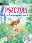 Okładka książki - Pszczoły i ich niezwykły świat. Książka z płytą CD