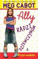 Okładka ksiązki - Ally radzi dziewczynom.Przeprowadzka