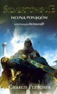 Okładka ksiązki - Silvertongue. Wojna Posągów