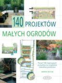 Okładka ksiązki - 140 projektów małych ogrodów