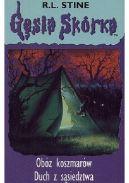 Okładka - Obóz koszmarów. Duch z sąsiedztwa