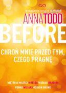 Okładka ksiązki - Before. Chroń mnie przed tym, czego pragnę