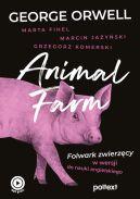 Okładka - Animal Farm. Folwark zwierzęcy w wersji do nauki angielskiego