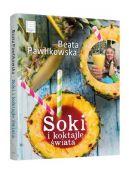 Okładka książki - Soki i koktajle świata