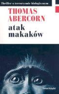 Okładka książki - Atak makaków