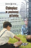 Okładka książki - Chłopiec w pasiastej piżamie