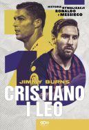 Okładka ksiązki - Cristiano i Leo. Historia rywalizacji Ronaldo i Messiego