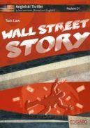 Okładka książki - Angielski THRILLER z ćwiczeniami Wall Street Story