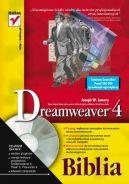 Okładka ksiązki - Dreamweaver 4. Biblia