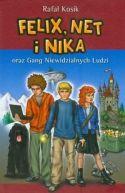 Okładka ksiązki - Felix, Net i Nika oraz Gang Niewidzialnych Ludzi