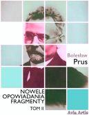 Okładka ksiązki - Nowele opowiadania fragmenty. Tom 2
