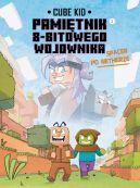 Okładka ksiązki - Minecraft. Pamiętnik nooba wojownika. Spacer po Netherze. Tom 2