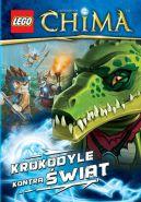 Okładka ksiązki - LEGO The Legends of Chima. Krokodyle kontra świat