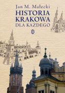 Okładka - Historia Krakowa dla każdego