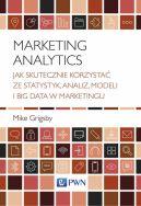 Okładka - Marketing Analytics. Jak skutecznie korzystać ze statystyk, analiz, modeli i big data w marketingu