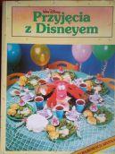 Okładka książki - Przyjęcia z Disneyem