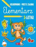 Okładka książki - Elementarz 3-latka