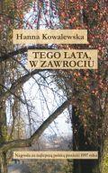 Okładka ksiązki - Tego lata, w Zawrociu