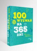 Okładka - 100 wyzwań na 365 dni czyli jak odkryć siebie na nowo