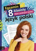 Okładka - Egzamin 8-klasisty. Zbiór próbnych testów. Język polski
