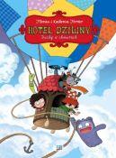 Okładka - Hotel Dziwny tom 4. Duchy w chmurach