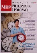 Okładka - Magazyn Pielęgniarki i Położnej