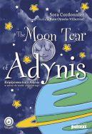 Okładka - The Moon Tear of Adynis. Księżycowa łza z Adynis w wersji do nauki angielskiego