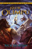 Okładka książki - Krew Olimpu