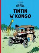 Okładka ksiązki - Tintin w Kongo, tom 2. Przygody Tintina