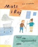Okładka ksiązki - Mats i Roj. Ktoś się wprowadza