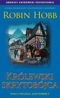 Okładka książki - Królewski skrytobójca
