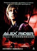 Okładka książki - Alex Rider. Misja: Stormbreaker