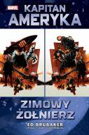 Okładka ksiązki - Kapitan Ameryka  Zimowy Żołnierz, tom 1