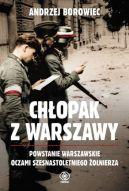 Okładka książki - Chłopak z Warszawy