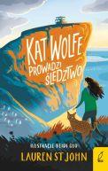Okładka książki - Kat Wolfe prowadzi śledztwo