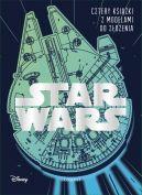 Okładka ksiązki - Star Wars. Cztery książki z modelami do złożenia