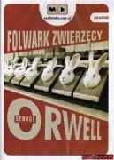 Okładka ksiązki - Folwark zwierzęcy. Audiobook