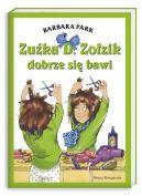 Okładka ksiązki - Zuźka D. Zołzik dobrze się bawi