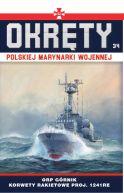 Okładka - Okręty Polskiej Marynarki Wojennej t.34. ORP Górnik
