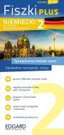 Okładka ksiązki - Niemiecki Fiszki PLUS dla średnio zaawansowanych 2