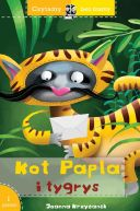 Okładka ksiązki - Czytamy bez mamy. Kot Papla i tygrysek