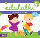 Okładka - Edulatki. Ćwiczenia 4-latka