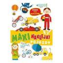 Okładka książki - Maxinaklejki. Pojazdy