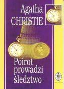 Okładka ksiązki - Poirot prowadzi śledztwo