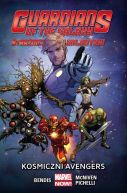 Okładka książki - Strażnicy Galaktyki. Kosmiczni Avengers