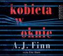Okładka ksiązki - Kobieta w oknie. Audiobook