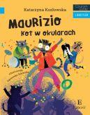 Okładka ksiązki - Maurizio. Kot w okularach. Czytam sobie z Bakcylem