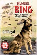 Okładka książki - Kundel Bing. O psie, który skakał na spadochronie