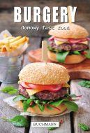 Okładka ksiązki - Burgery. Domowy fast food