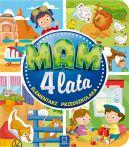 Okładka ksiązki - Mam 4 lata. Elementarz przedszkolaka